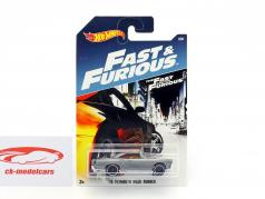 Plymouth Road Runner year 1970 Movie Fast & Furious (2006) Gray metallic 1:64 HotWheels
