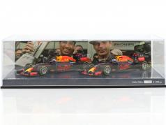 Ricciardo #3 & Verstappen #33 2-Car set Red Bull RB12 1-2 finish Malaysian GP F1 2016 1:43 Minichamps