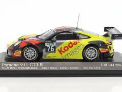 Porsche 911 (991) GT3 R #76 Class Winner 24h Spa 2016 IMSA Performance 1:43 Minichamps