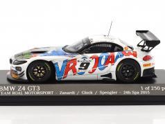 BMW Z4 GT3 (E89) #9 24h Spa 2015 Zanardi, Spengler, Glock 1:43 Minichamps