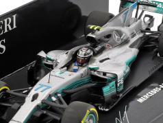 Valtteri Bottas Mercedes F1 W08 EQ Power  #77 Spanish GP Formel 1 2017 1:43 Minichamps