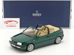 Volkswagen VW Golf 3 cabriolé ano de construção 1995 verde metálico 1:18 Norev