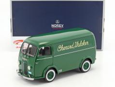 Peugeot 1500kg Type CHV Chenard & Walcker ano de construção 1946 verde 1:18 Norev