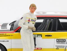 Walter Röhrl Audi Quattro figura Rallye 1984 1:18 FigurenManufaktur