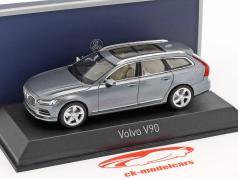 Volvo V90 ano de construção 2016 osmium cinza 1:43 Norev