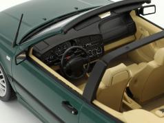 Volkswagen VW Golf 3 Cabriolet Opførselsår 1995 grøn metallisk 1:18 Norev