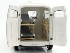Peugeot D4B ambulance Opførselsår 1963 hvid 1:18 Norev