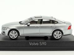 Volvo S90 ano de construção 2016 osmium cinza 1:43 Norev