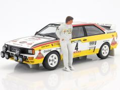 Christian Geistdörfer figura Co-piloto Rallye 1:18 FigurenManufaktur