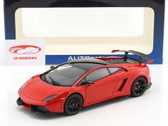 Lamborghini Gallardo LP570 Supertrofeo Stradale Year 2011 red 1:18 AUTOart