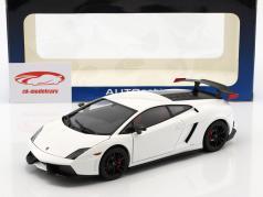 Lamborghini Gallardo LP570 Supertrofeo Stradale année 2011 blanc 1:18 AUTOart