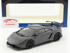 Lamborghini Gallardo LP570 Supertrofeo Stradale année 2011 gris 1:18 AUTOart