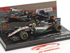 Sergio Perez Force India VJM09 #11 3 Monaco GP formule 1 2016 1:43 Minichamps