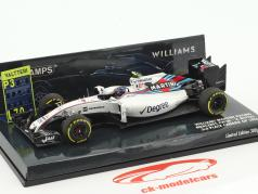 Valtteri Bottas Williams FW38 #77 3 ° Canada GP formula 1 2016 1:43 Minichamps