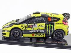 Ford Fiesta RS WRC #46 vincitore Monza Rallye Show 2016 Rossi, Cassina 1:43 Ixo