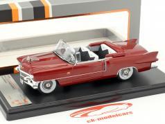 Cadillac Eldorado Biarritz Baujahr 1956 dunkelrot metallic 1:43 Premium X