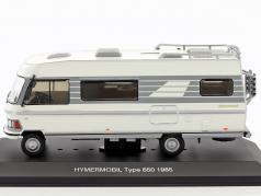 Hymermobil 650 weiß / grau Baujahr 1985 1:43 Ixo