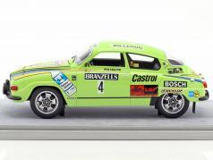 Saab 96 V4 #4 Winner Rallye Sweden 1976 Eklund, Cederberg 1:18 Tecnomodel