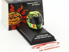 Valentino Rossi MotoGP Mugello 2016 AGV Helm 1:8 Minichamps