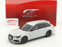 Audi RS6 (C7) Avant Performance year 2017 white 1:18 GT-Spirit