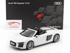 Audi R8 Spyder V10 suzuka gris 1:18 iScale
