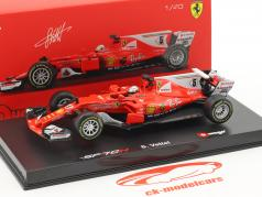 Sebastian Vettel Ferrari SF70H #5 Formel 1 2017 Ray Ban 1:43 Bburago