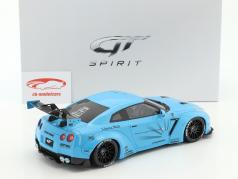 Nissan GTR (R35) LB Performance hellblau 1:18 GT-Spirit
