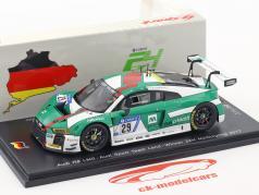 Audi R8 LMS #29 Winner 24h Nürburgring 2017 Audi Sport Team Land 1:43 Spark
