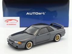Nissan Skyline GT-R (R32) Wangan Midnight Reina grau metallic 1:18 AUTOart