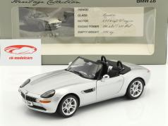 BMW Z8 Roadster Heritage Collection year 1999-2003 silver 1:18 Kyosho