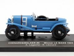 Chenard & Walcker Sport RHD #9 vincitore 24h LeMans 1923 Lagache, Leonard 1:43 Ixo