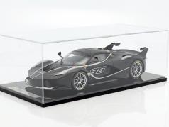 Ferrari FXX-K #98 natte noir / argent 1:12 BBR