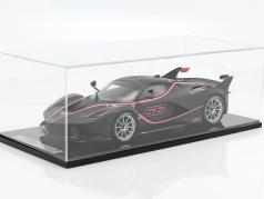 Ferrari FXX-K #66 natte noir / rose 1:12 BBR