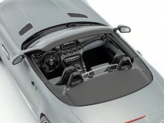 Mercedes-Benz AMG GT C Roadster year 2017 designo selenite gray magno 1:18 Norev