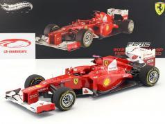 F. Alonso Ferrari F2012 #5 Winner GP Malaysia Formel 1 2012 1:18 HotWheels Elite