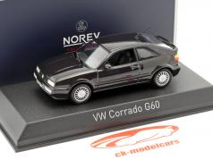 Volkswagen VW Corrado G60 year 1990 dark violet metallic 1:43 Norev