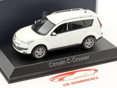 Citroen C-Crosser year 2007 white 1:43 Norev