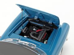 Peugeot 404 Cabriolet Baujahr 1967 mendoza blau 1:18 Norev