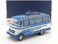 Mercedes-Benz O319 bus year 1960 blue / beige 1:18 Norev