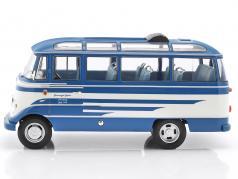 Mercedes-Benz O319 Bus Baujahr 1960 blau / beige 1:18 Norev