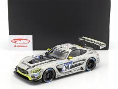 Mercedes-Benz AMG GT3 #50 24h Nürburgring 2017 Baumann, Buhk, Mortara, Sandström 1:18 Norev