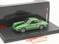 Porsche 911 coupe green metallic 1:43 Schuco