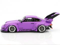 Porsche 911 (993) RWB Rotana natte pourpre 1:18 GT-Spirit