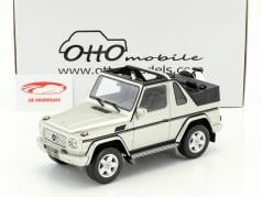 Mercedes-Benz G-Class Cabriolet year 2007 gray 1:18 OttOmobile