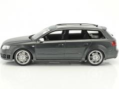 Audi RS4 B7 year 2006 daytona Gray 1:18 OttOmobile