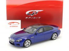 BMW M6 Gran Coupe blau 1:18 GT-Spirit