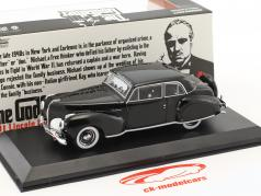 Lincoln Continental with Bullet Whole Damage Movie The Godfather 1972 black 1:43 Greenlight