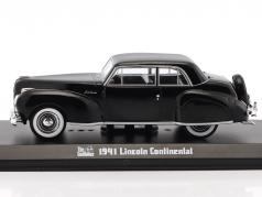 Lincoln Continental Movie The Godfather 1972 black 1:43 Greenlight