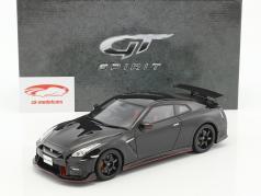 Nissan GT-R Nismo year 2017 black 1:18 GT-SPIRIT