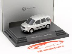 Mercedes-Benz Citan Kombi brillant silber metallic 1:87 busch